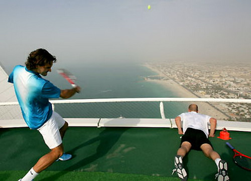 Tennis On Helipad 05