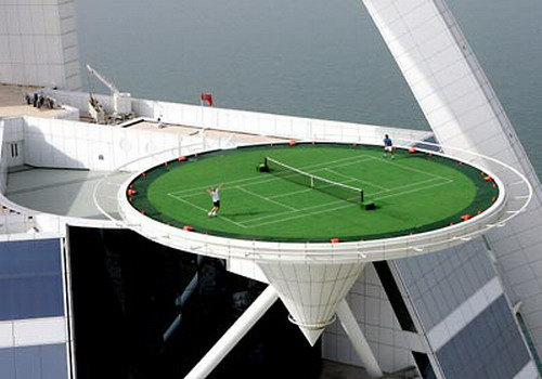Tennis On Helipad 12