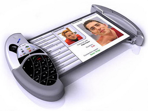 Polymer Vision Concept Phone