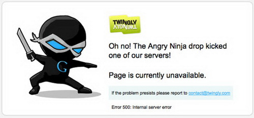 Twingly Server is Down