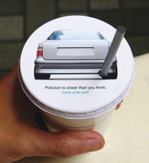 Pollution Car Straw