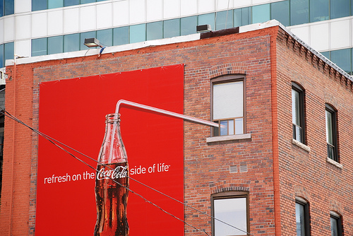 Coca Cola Guerilla Advertising