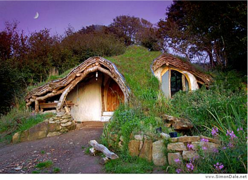 Eco House in Wales
