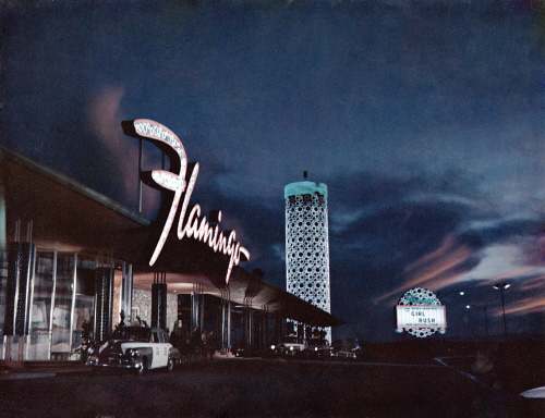 THE GIRL RUSH, Flamingo Hotel, Las Vegas, 1955.