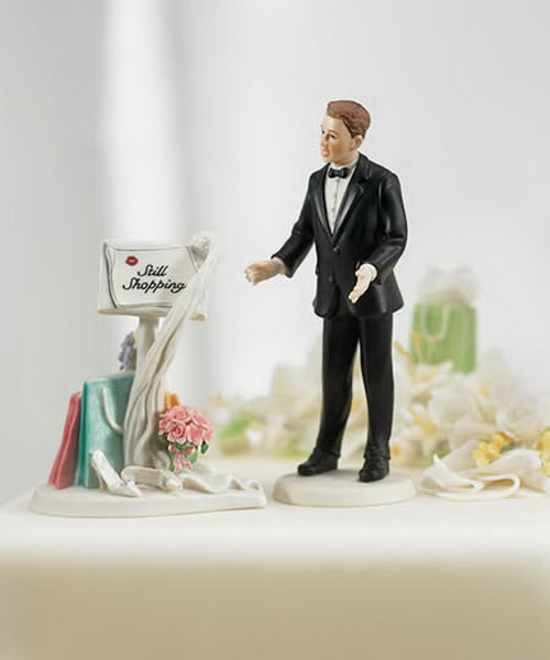 Weird Wedding Cake Topper