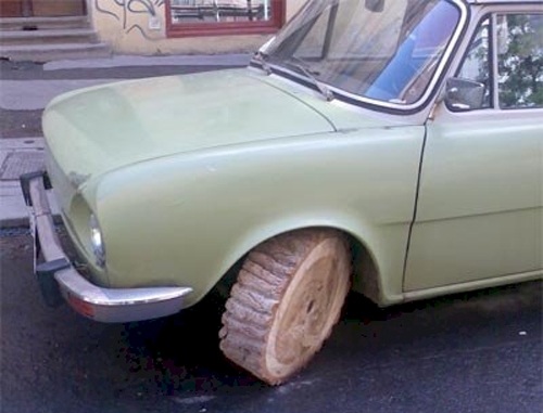 Funny Car Tyre