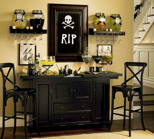 source posh posh - Pottery Barn Halloween Decorations
