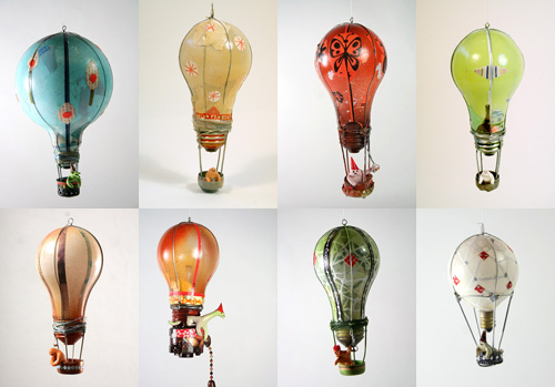 Designed by Souther Salazar, at Jonathan LeVine Gallery. Oyule Light Bulbs