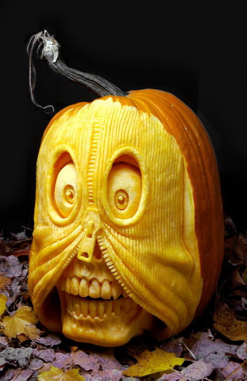 Creepy Decoration Pumpkin