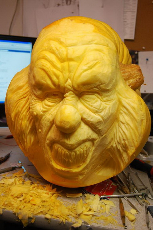 Strange Pumpkin Artwork
