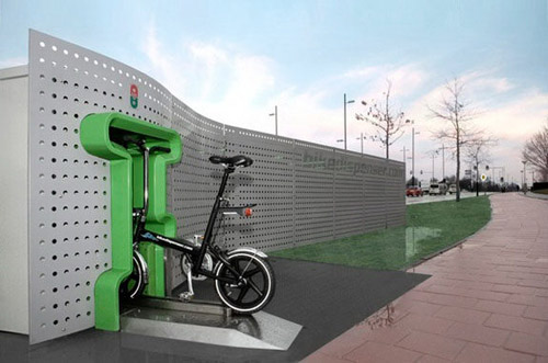 Bikedispenser bicycle vending machine
