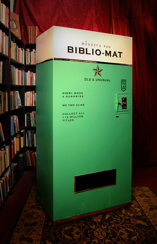 Books Vending Machine Bibliomat
