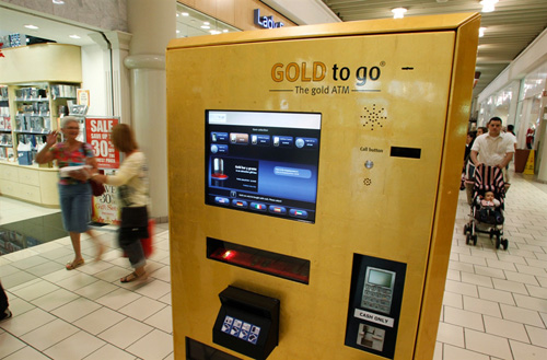 Pure Gold Vending Machine