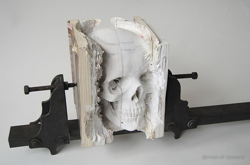 Cranium Sculpture Art