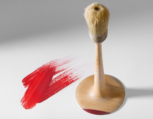 stamp paint brush