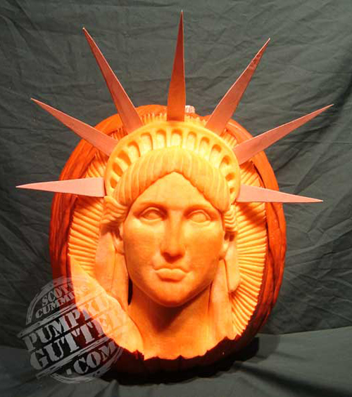 3D art pumpkin