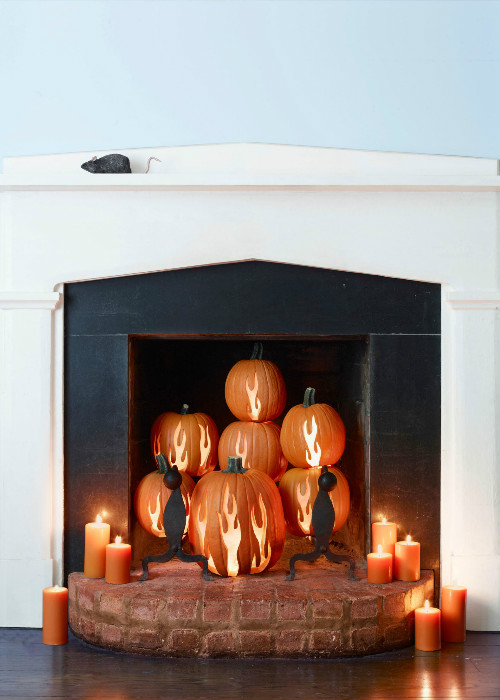 Pumpkin interior design