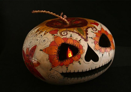 art work pumpkin