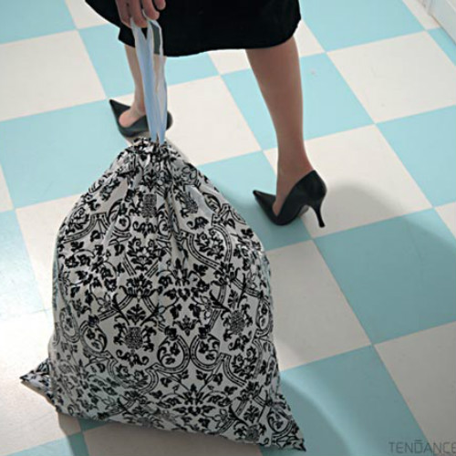 glam trash bags
