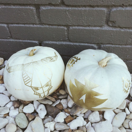 pumpkin art creation